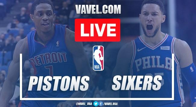 Full Highlights: Pistons 106-124 Sixers in 2020 NBA Regular Season