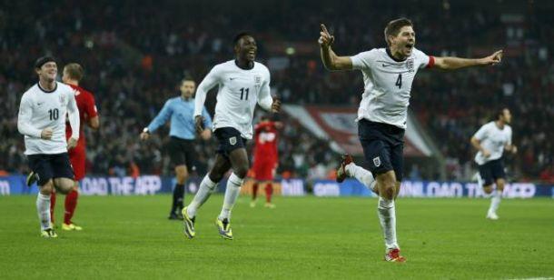 Les 23 Anglais pour le Mondial