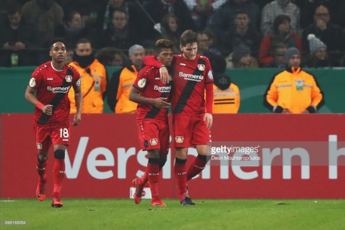 Borussia Mönchengladbach 0-1 Bayer Leverkusen: Leon Bailey sends Werkself into Pokal last-eight