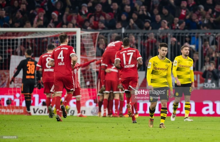 Bayern Munich 2-1 Borussia Dortmund: Die Roten survive late comeback after dominant display