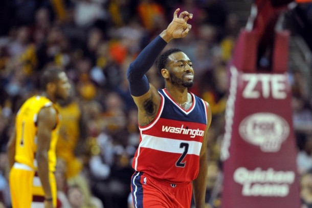 John Wall's Big Night Leads Washington Wizards To Upset Victory Over Cleveland Cavaliers