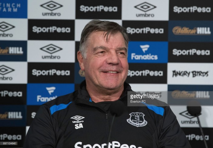 Everton boss Allardyce reportedly wants to sign English defender available for £20million