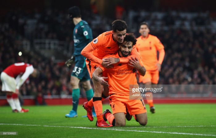 Liverpool duo Coutinho and Salah to miss Merseyside derby FA Cup clash on Friday night