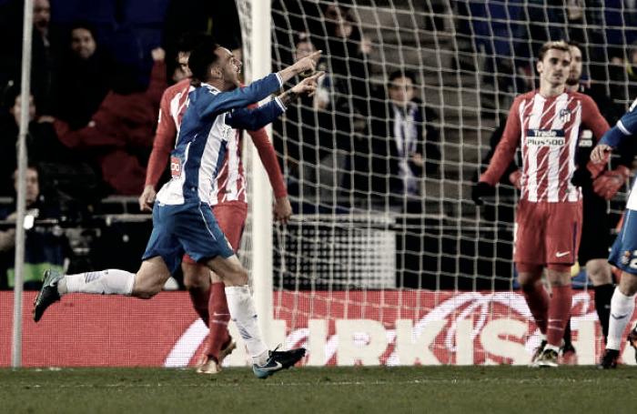 Espanyol vence com gol no fim e derruba invencibilidade do Atlético de Madrid