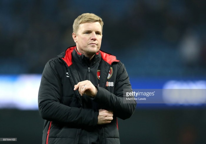 "Eddie Howe believes games against Manchester City ""are a one-off"" as his side fall to a 4-0 defeat"
