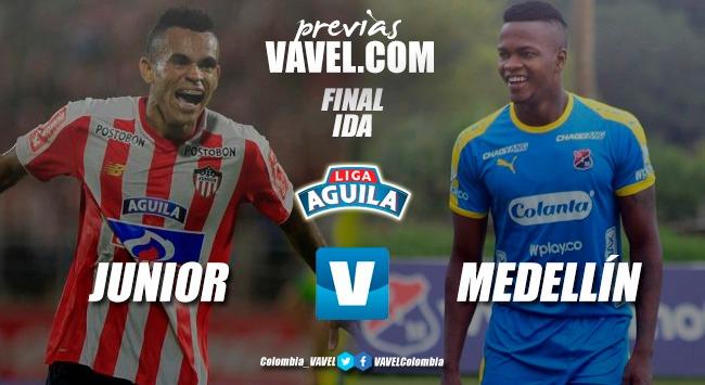 Previa Junior vs Medellín: arranca la gran final de la Liga Águila 2018-II