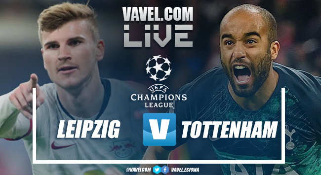 Resumen Leipzig 3-0 Tottenham en octavos de final Champions League 2020