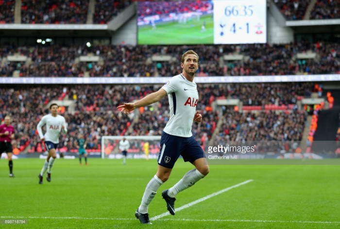 Tottenham Hotspur 5-2 Southampton: Kane breaks goal-scoring record as Spurs outclass Saints at Wembley