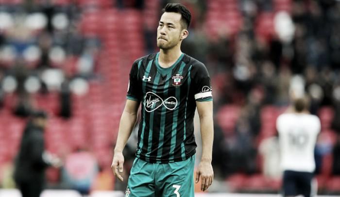 Maya Yoshida admite que o Southampton teve uma queda de rendimento com Mauricio Pellegrino