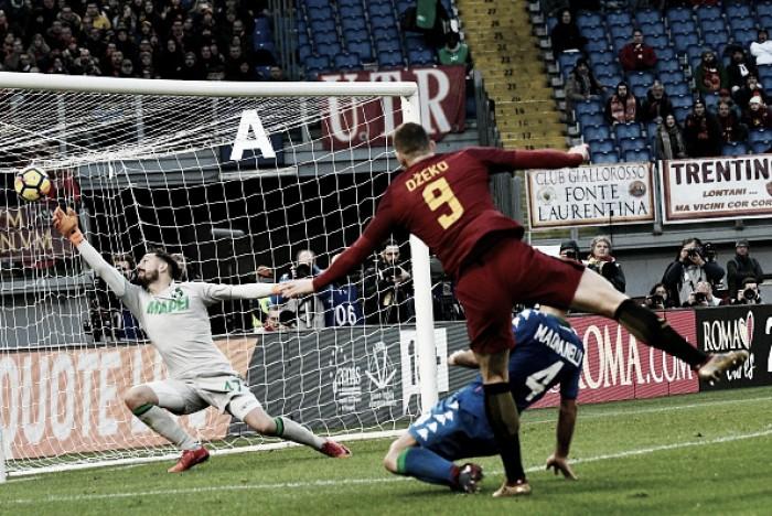 Roma tem dois gols anulados, empata com Sassuolo em casa e amplia má fase