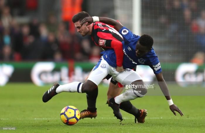 AFC Bournemouth 2-1 Everton: Ryan Fraser brace denies Blues unbeaten end to 2017