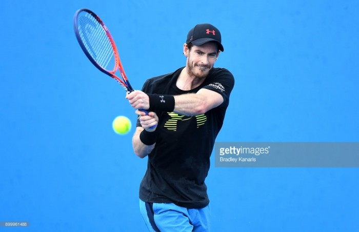 Murray withdraws from Brisbane International due to ongoing hip injury