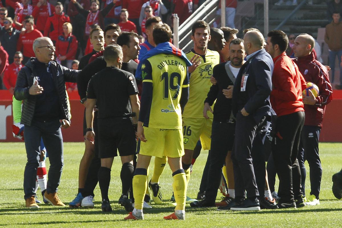 Diego Martínez se perderá el partido frente a la U.D. Las Palmas