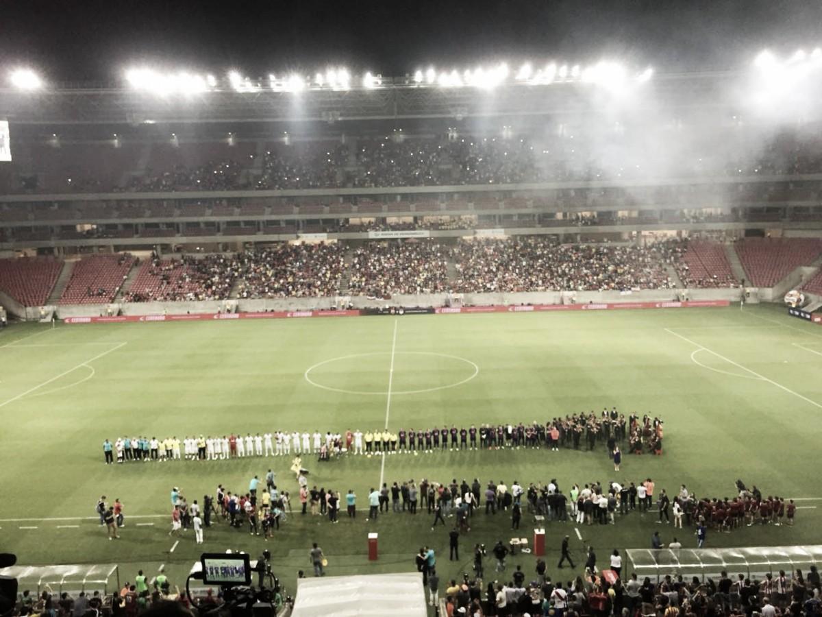 Recheados de craques, Barcelona Legends vence Seleção Pernambucana em amistoso