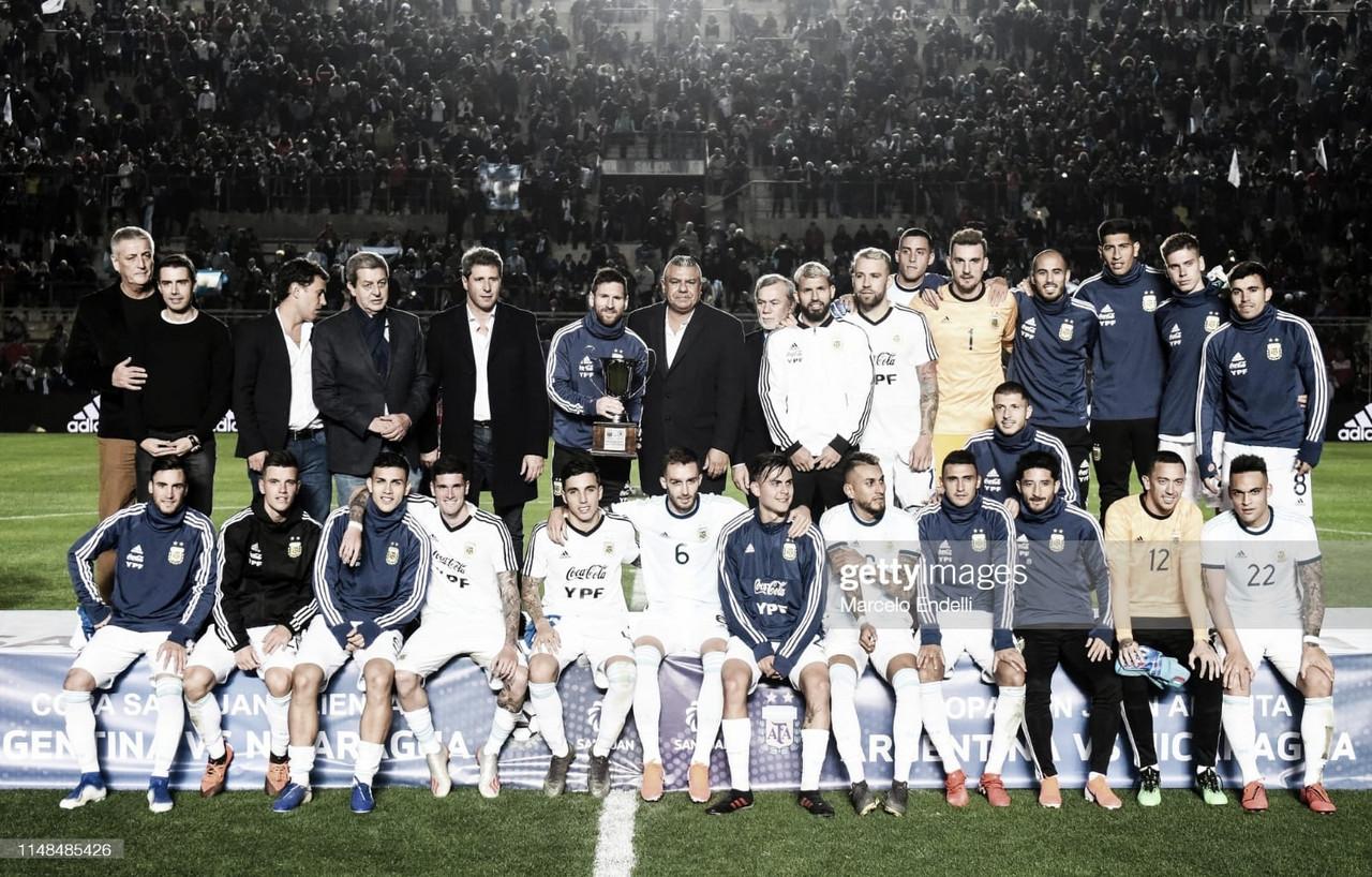 Una mirada hacia atrás rememorando el último partido con público argentino