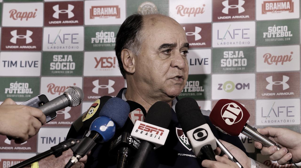 Situação do Fluminense preocupa Marcelo Oliveira, que convoca torcida para 'final' contra Ceará