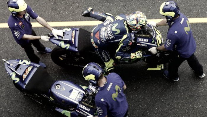 Rossi, l'incubo flag to flag