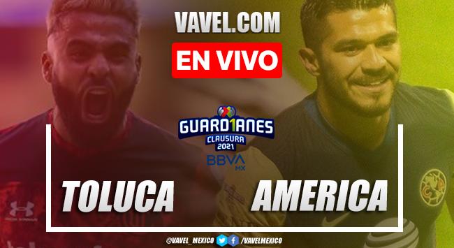 Resumen y goles: Toluca 3-1 América en Jornada 16 de Liga MX Guard1anes 2021