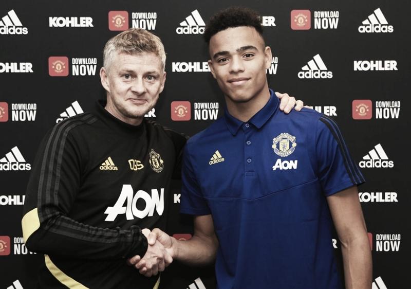 Manchester United renova contrato de Mason Greenwood até 2023