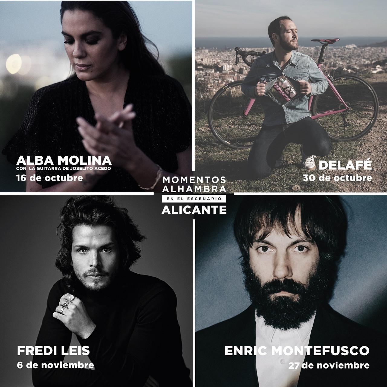 El ciclo de conciertos Momentos Alhambra En El Escenario vuelve al Teatro Principal de Alicante