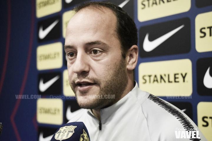 """Lluís Cortés: """" Tenemos claro el objetivo que consiste en ganar los partidos que nos quedan"""""""