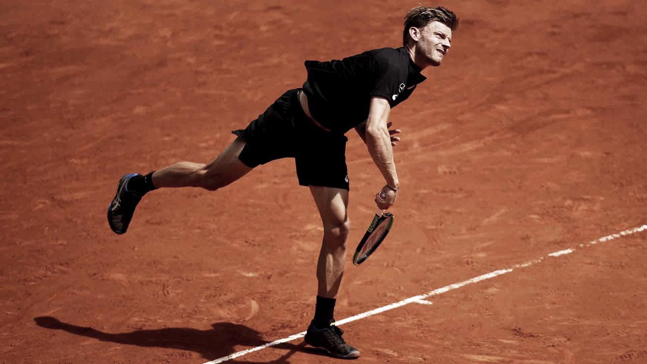 Goffin leva susto, mas se recupera e vence Wawrinka na estreia do Masters 1000 de Roma