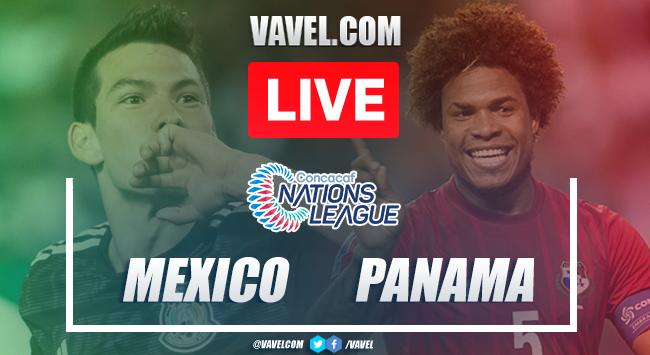 Resúmen y Goles: Panamá 0-3 México en CONCACAF Liga de Naciones 2019