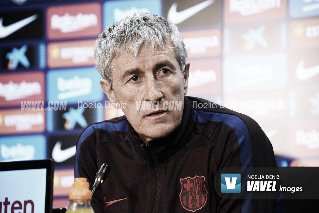 """Setién: """"El equipo ha merecido la victoria"""""""