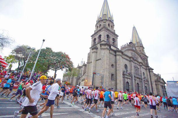 Todo listo para el Medio Maratón Guadalajara 2015