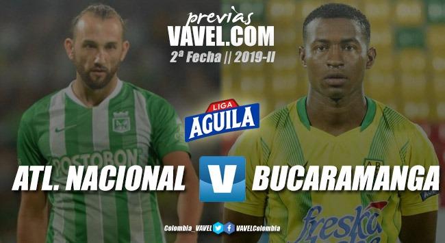Previa Atlético Nacional vs Atlético Bucaramanga: duelo con calidad diferente en las nóminas