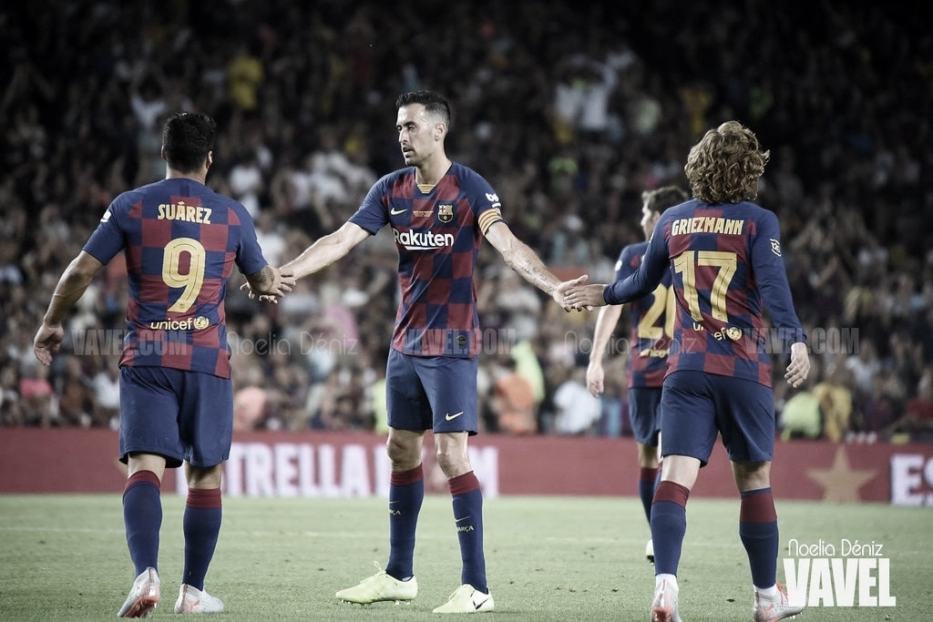 El Barça vuelve a vencer como visitante 158 días después