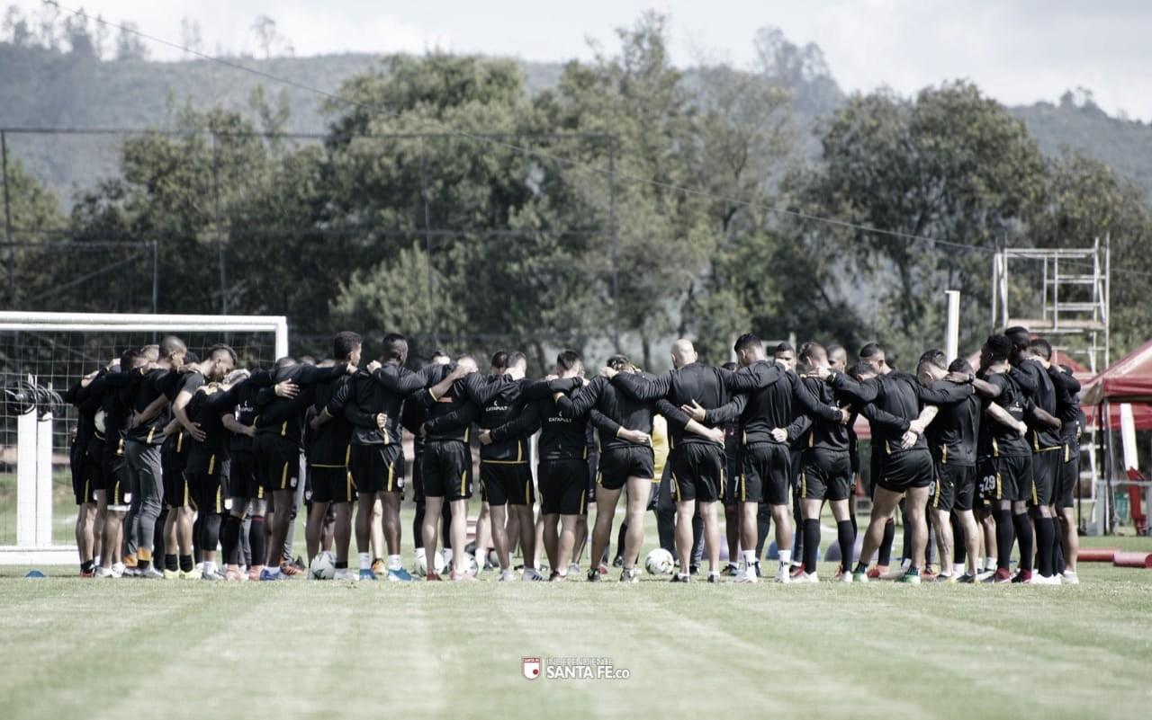 Convocados de Independiente Santa Fe para enfrentar a Patriotas