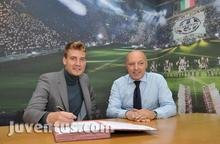 Nicklas Bendtner cedido a la Juventus