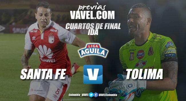 Previa Independiente Santa Fe vs Deportes Tolima: Comienza la búsqueda por la estrella decembrina