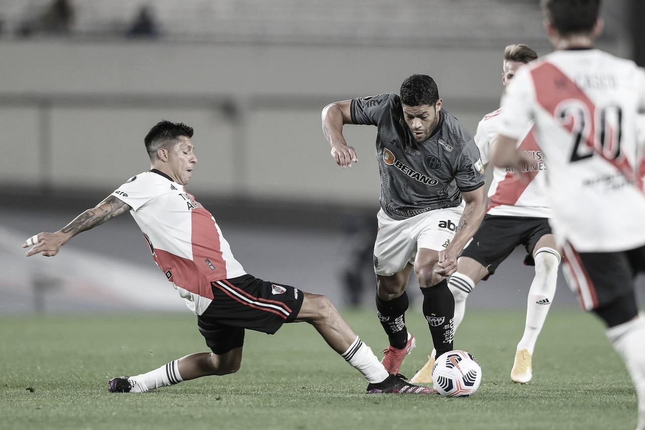 Com vantagem sobre o River Plate, Atlético-MG mira semifinais da Libertadores