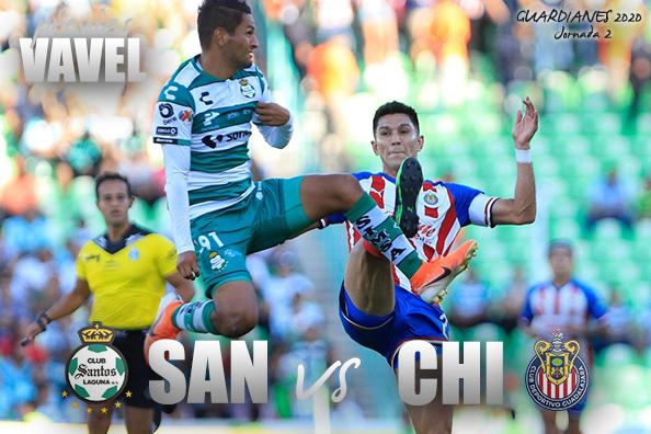 Previa Santos - Chivas: dos equipos que necesitan convencer