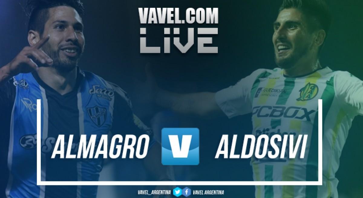 Resumen Almagro 1-3 Aldosivi por el ascenso a la Superliga