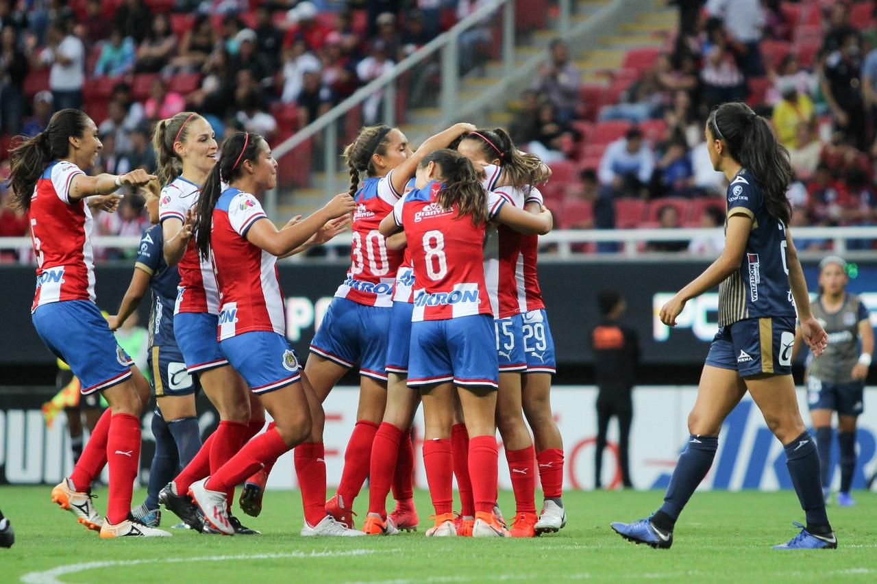 Chivas Femenil amarra su primer triunfo en el Apertura 2019