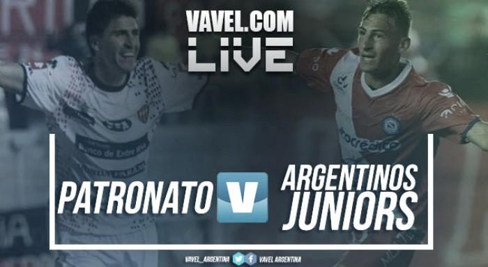 Resumen y goles Patronato vs Argentinos Juniors por la Superliga Argentina 2017 (2-1)
