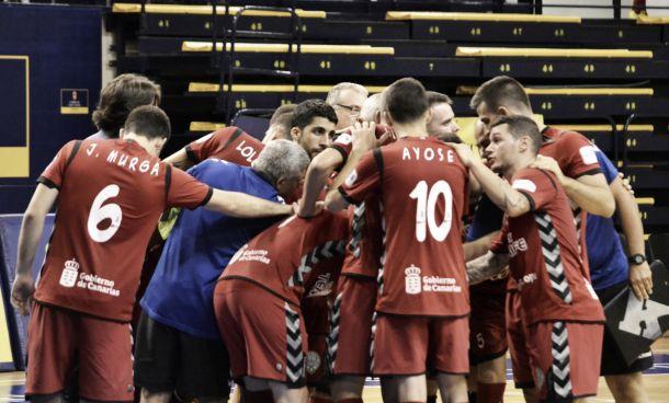 El Uruguay Tenerife cae eliminado de la Copa del Rey