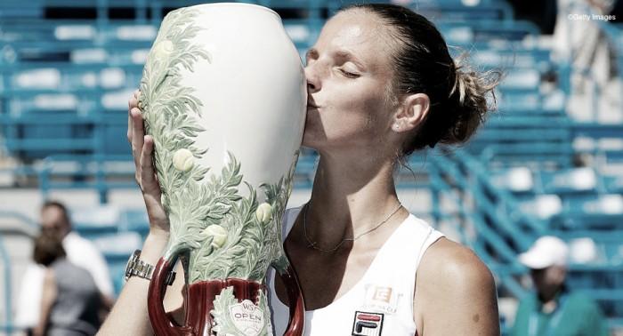 Pliskova domina Kerber e conquista o maior título de sua carreira em Cincinnati