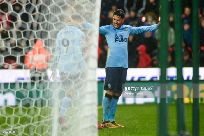Stoke City 0-1 Newcastle United: Pérez's strike sinks Stoke as Hughes hangs by a thread