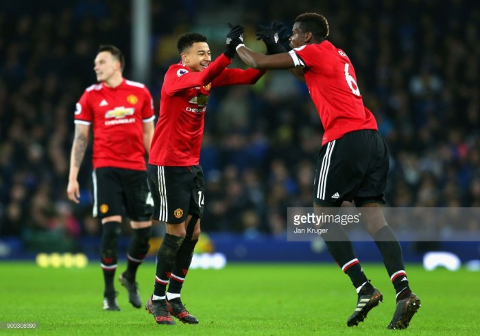 Jesse Lingard is growing as a player fantastically, admits a pleased Jose Mourinho