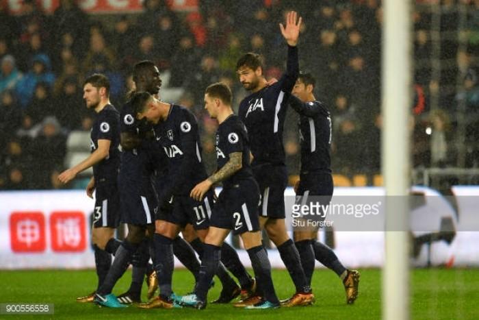 Swansea City 0-2 Tottenham Hotspur: Llorente and Alli seal all three points for below-par Spurs