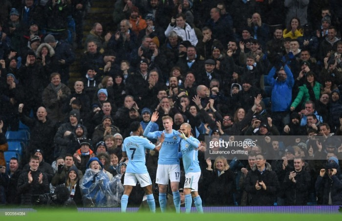 Manchester City 3-1 Watford: City cruise to victory as Sané and Silva shine