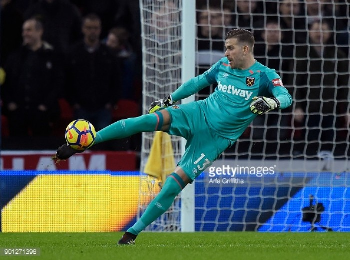 Adrian pleased as West Ham's positive run continues
