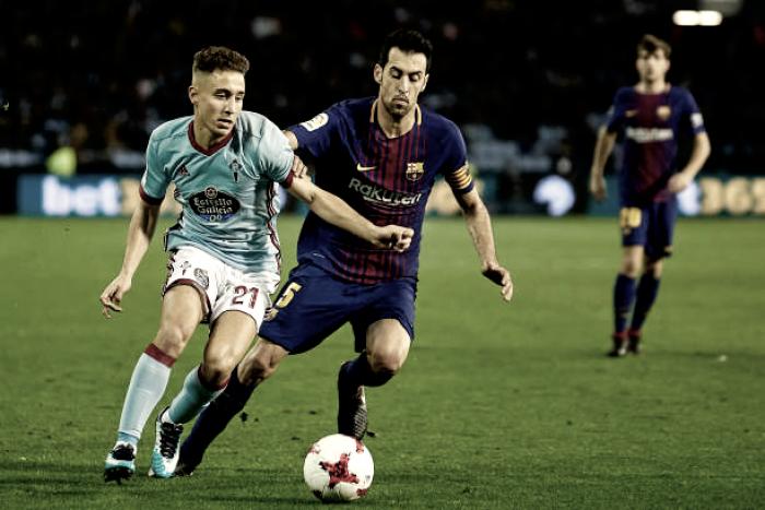 Sem Messi, Barcelona sai na frente mas cede empate ao Celta de Vigo pela Copa do Rei
