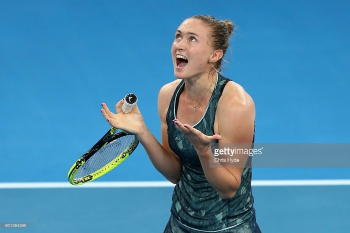 Svitolina sends Australian Open warning with Brisbane triumph