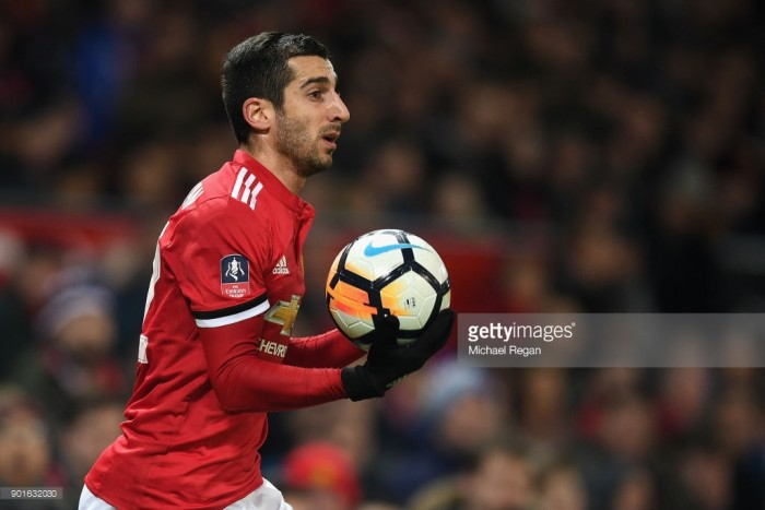 José Mourinho admits it's possible that Henrikh Mkhitaryan could be used in a deal for Alexis Sánchez