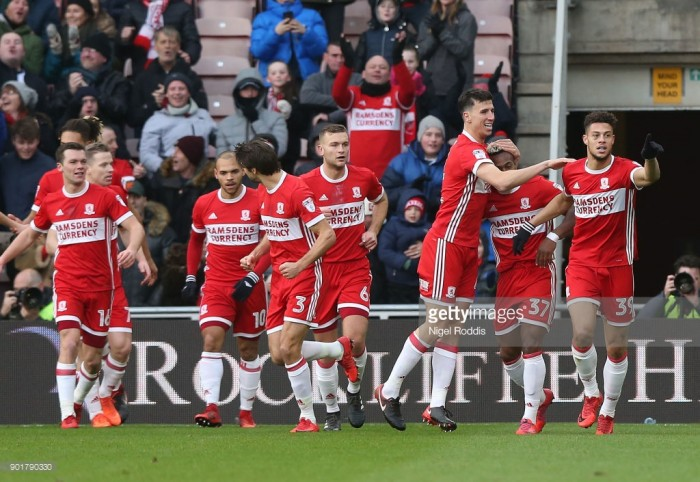 Middlesbrough 2-0 Sunderland: Boro breeze past local rivals in Pulis' Riverside curtain-raiser